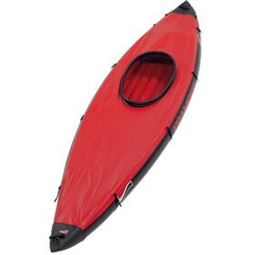 Grabner Couvre Canoë Pour Tramper 2 places, red/black
